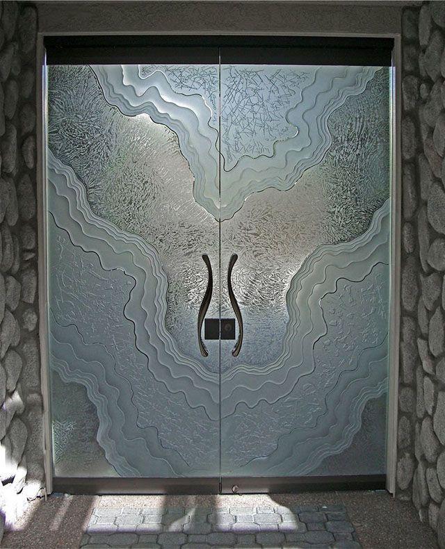 vidro jateado placas de ônix