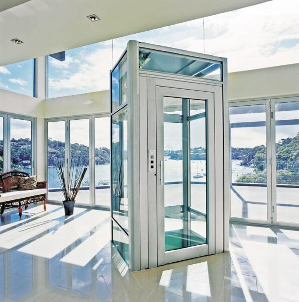 Elevadores residenciais pre os tipos e projetos - Costo ascensore interno 1 piano ...