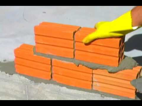argamassa de assentamento para tijolos cerãmicos
