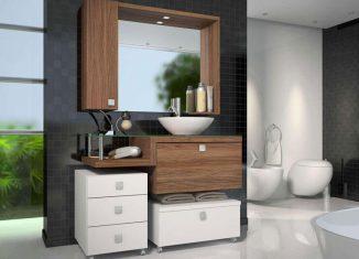 gabinete super simples pro banheiro, suspenso, a partir de R$ 700,00
