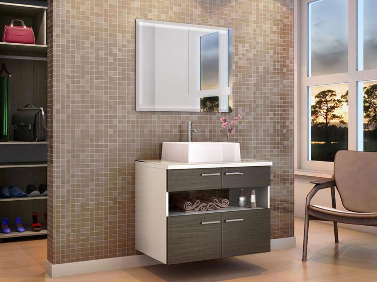 armários para banheiro