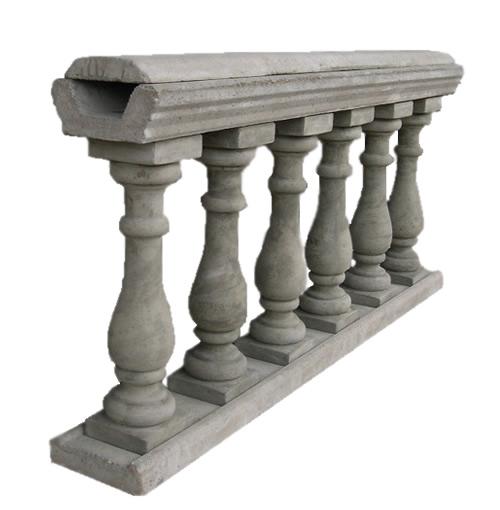 balaustre em concreto premoldado