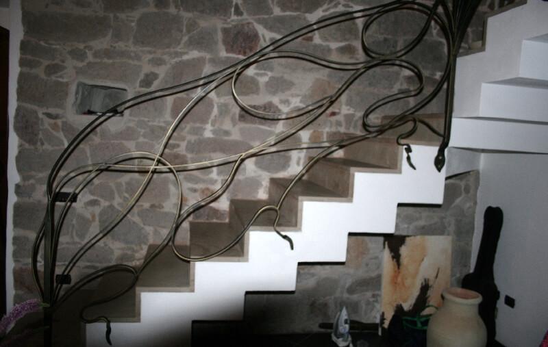 balaústre em ferro personalizado para escada