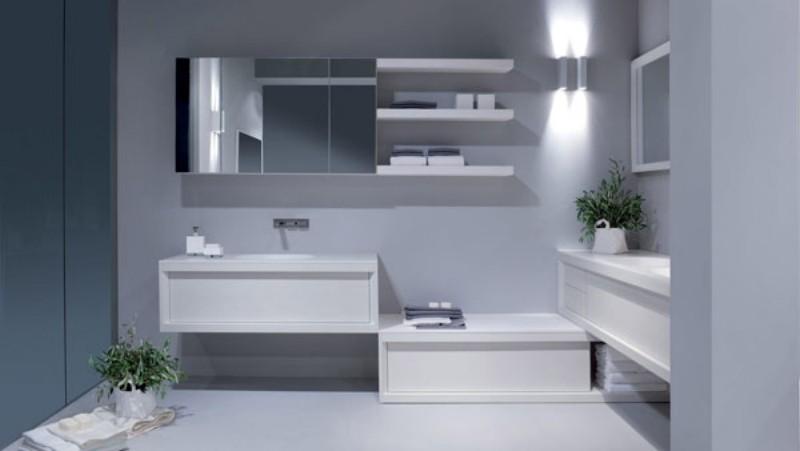 Banheiros Modernos Decorados Dicas, Como Montar (VEJA MAIS!!!) -> Decoracao Banheiro Clean