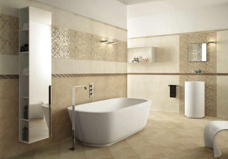 Elementos curvilíneos instigantes garantem o efeito moderno nesse banheiro decorado