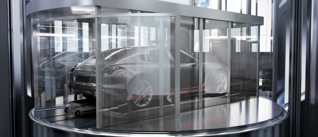 elevador para carro moderno