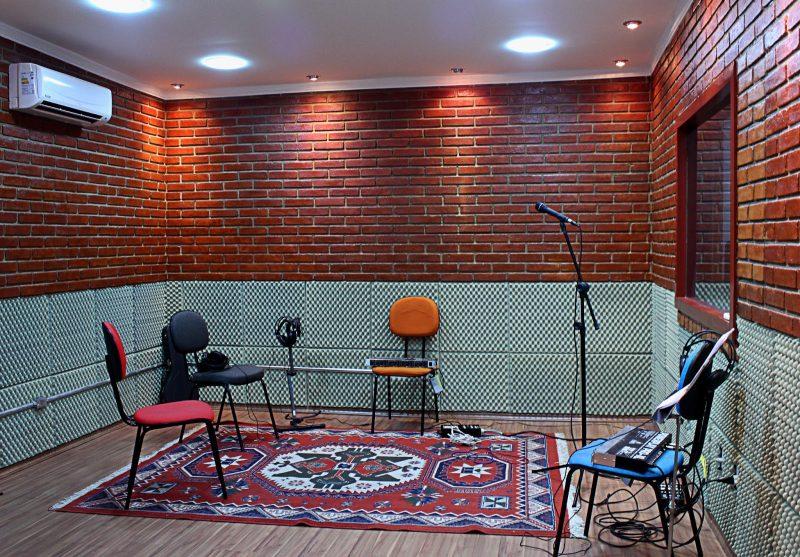 isolamento acústico de estúdio