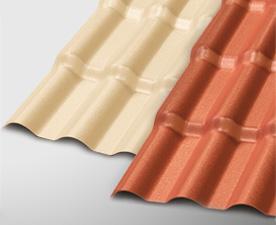 telhas precon coloniais em PVC