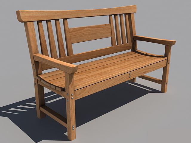 banco de madeira para o jardim super tradicional