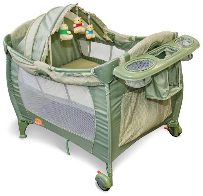 modelo mais protegido de berço para bebê portátil