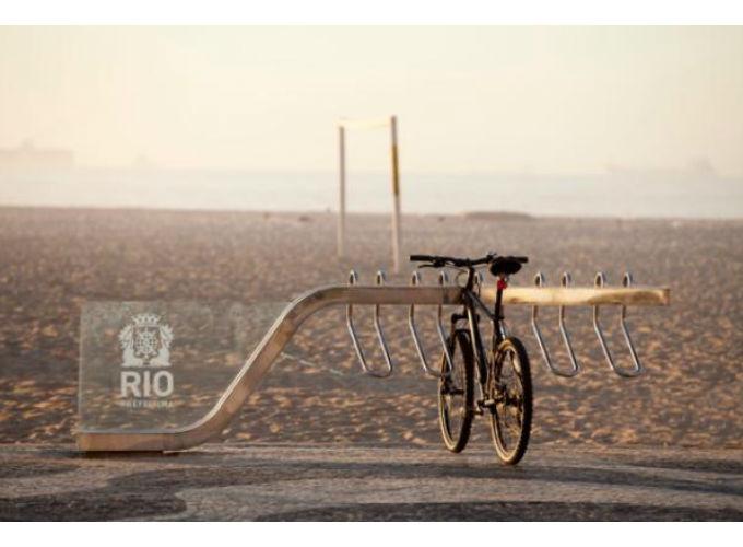 Novos Bicicletários do Rio de Janeiro com visual contemporâneo