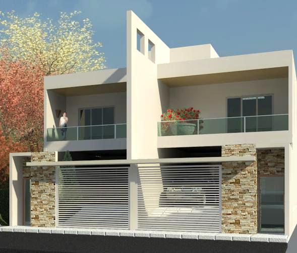 Casas Geminadas Modernas