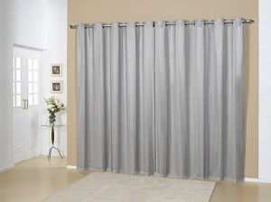 cortina blecaute cinza