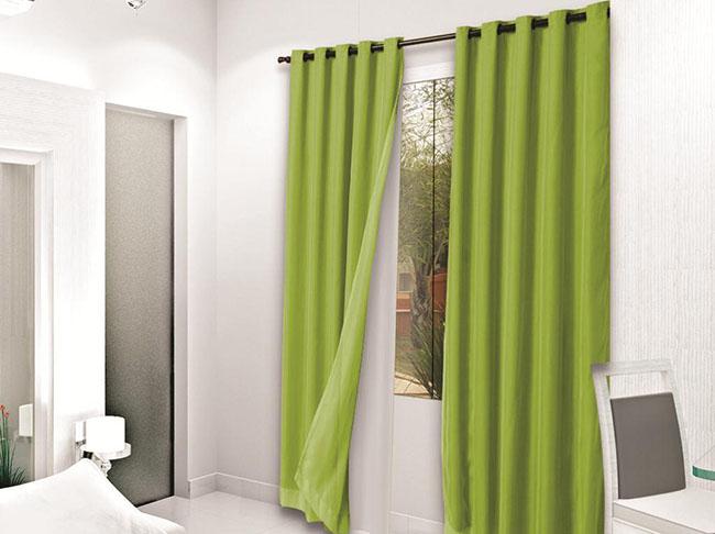 cortina blecaute verde