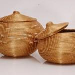 Vasos e cestos decorativos