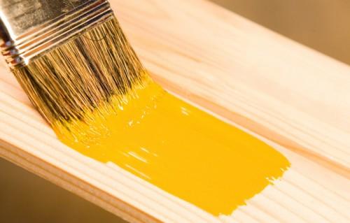 pintura da tinta óleo sobre madeira