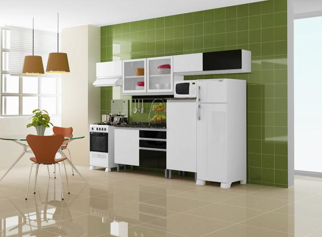Porcelanato - um dos pisos mais populares para a área da cozinha