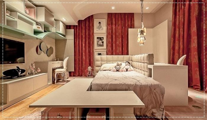 Ideias de decoração para quarto feminino