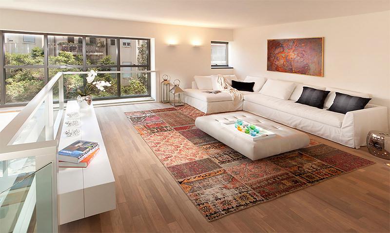 tapetes para sala de estar modelos como usar dicas