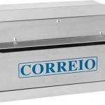 Caixa de embutir de correspondência em alumínio
