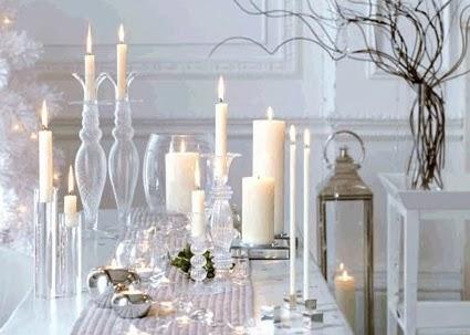 Uso de castiçais na decoração