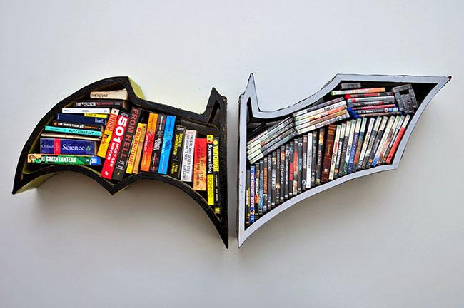 estante para livros decorativa