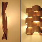 Ideias de arandelas criativas de Bambu