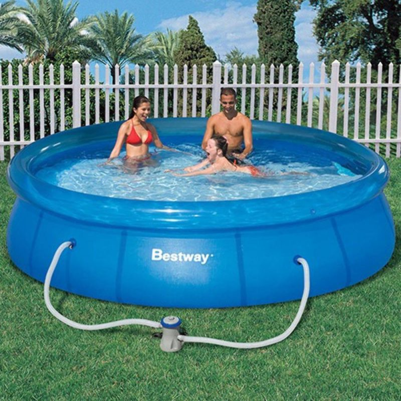piscina inflável com bomba