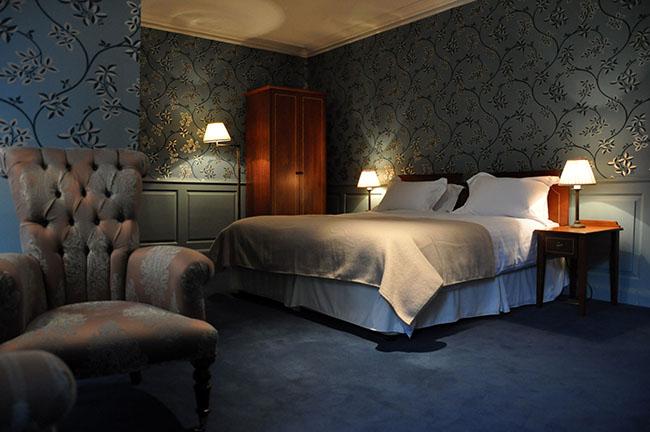 Decoração Feng Shui d quarto azul