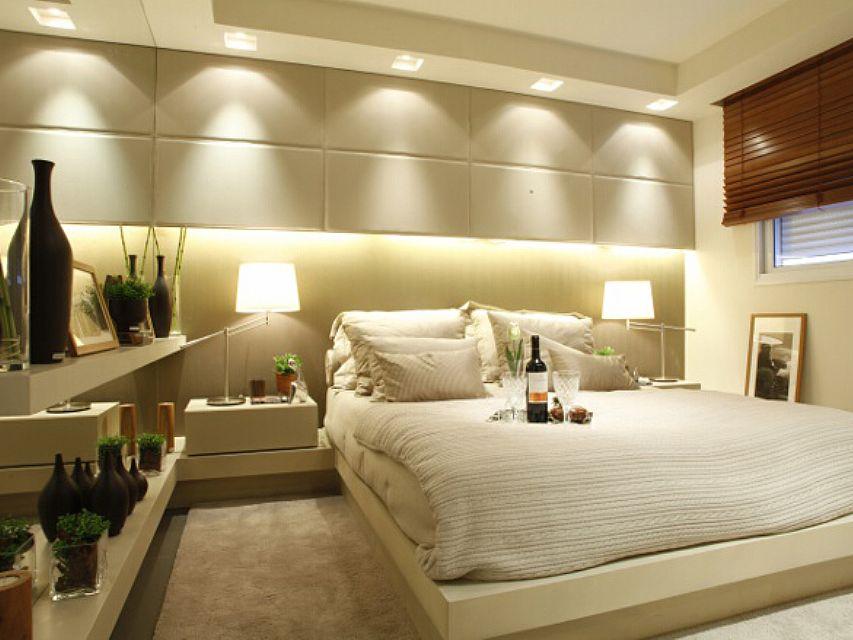 Iluminação decorativa para a cabeceira do quarto