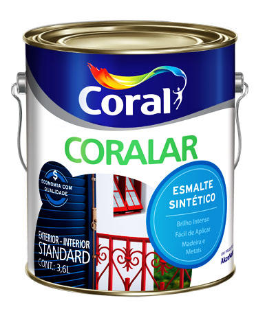 Tinta Esmalte Coral