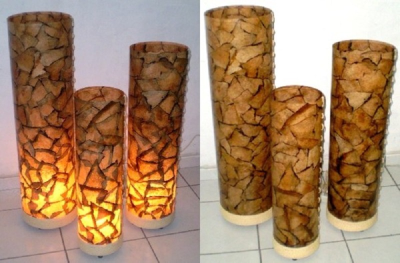 Luminárias Artesanais com filtro de café