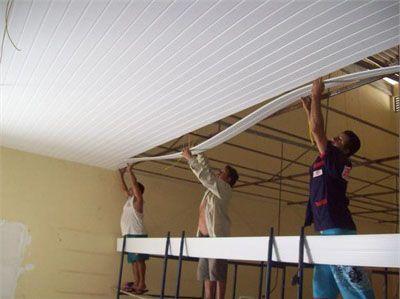 Como colocar forro de PVC