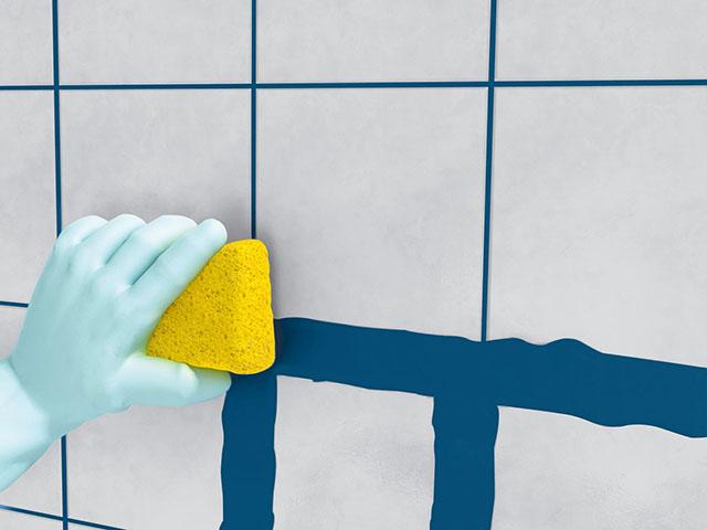 Tintas para rejunte aprenda a recolorir rejunte cer mico - Pintura sobre azulejo ...