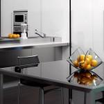 Fruteira de vidro para cozinha