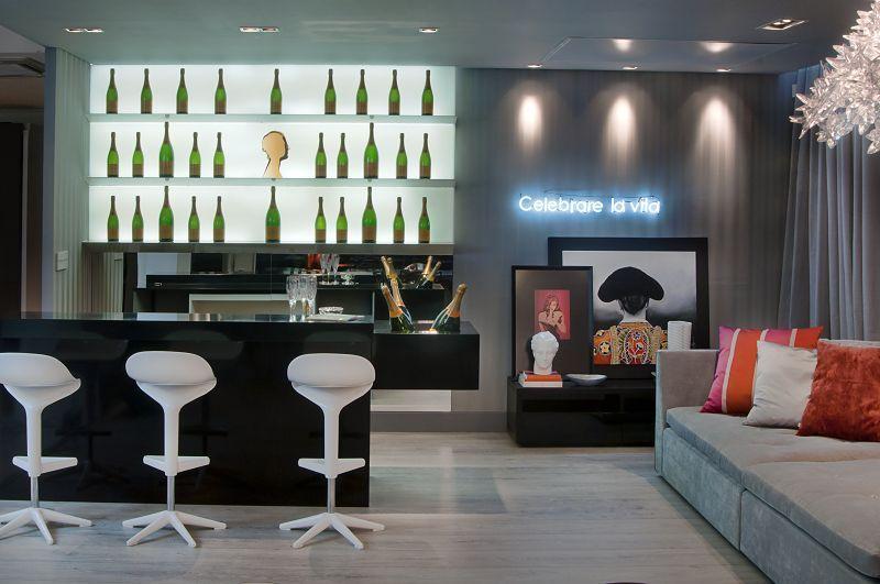 barzinho para sala projetos de bar para sala