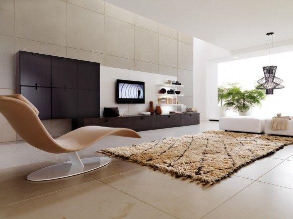 Decoração de sala moderna minimalista