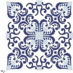 Estampa de azulejo antigo português