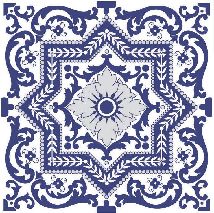 Decora o com estampas de azulejos antigos - Fotos de azulejos ...