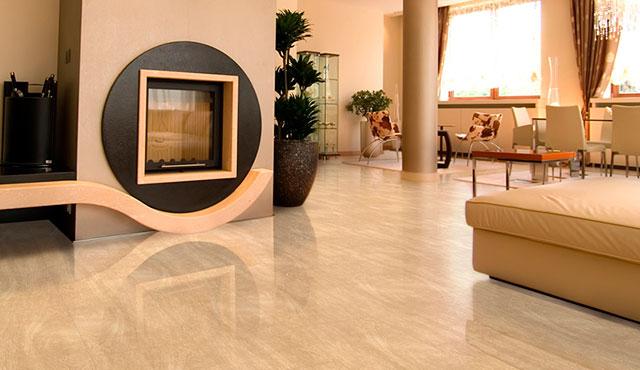 Tipos de piso para sala for Modelos de ceramica para pisos de sala