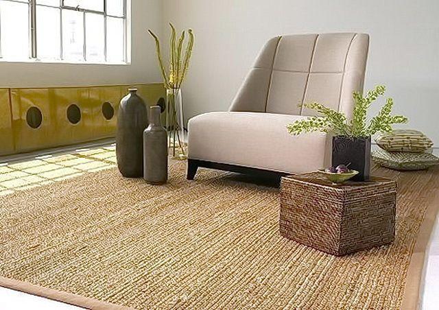 Tipos de tapetes decorativos para sala - Alfombra yute ikea ...