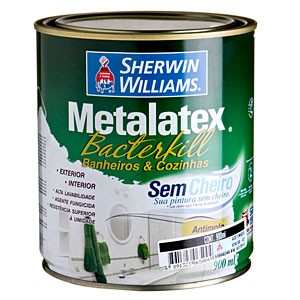 Esmalte bactericida e antimofo METALEX da Sherwin Williams