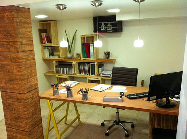 escritório ambiente de estudo