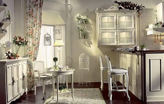 Cozinha moderna com decoração em estilo provençal