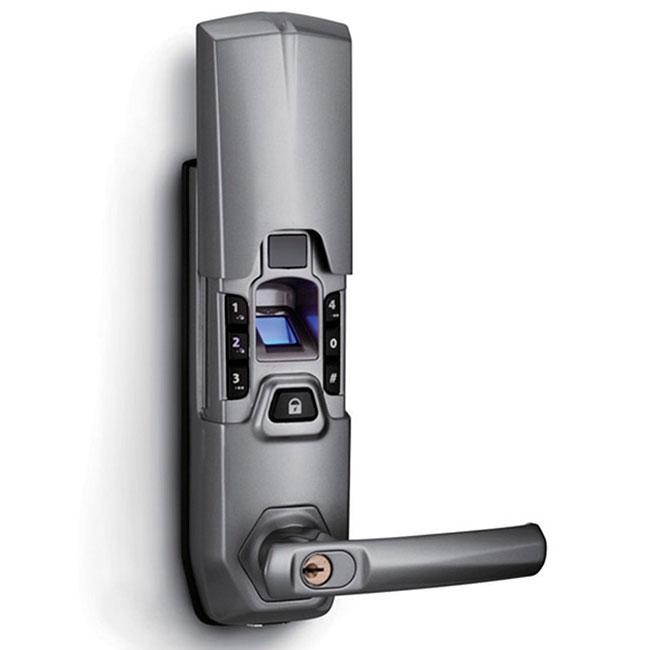 fechadura biométrica usa a impressão digital para reconhecer o dono do imóvel