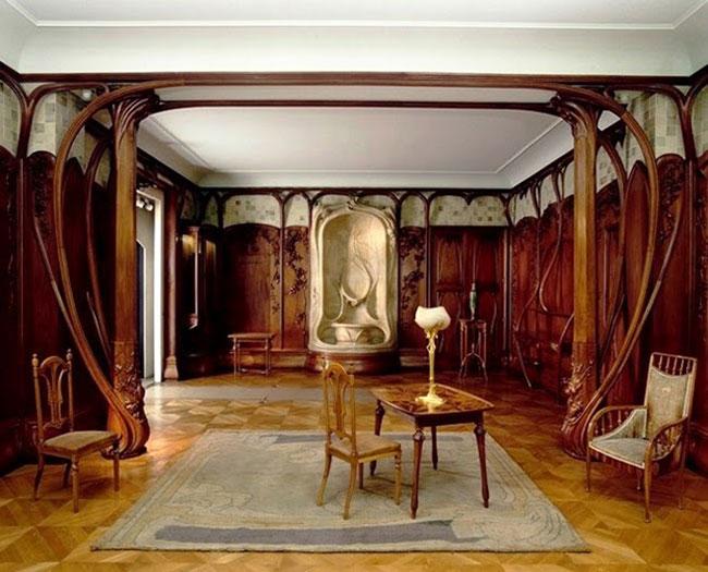 Arquitetura de interiores art deco - Formas orgânicas e simetria dispensável