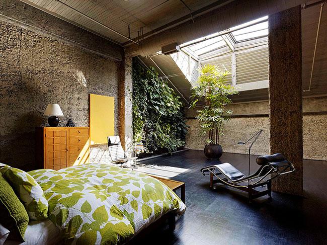 jardim vertical de inverno no quarto