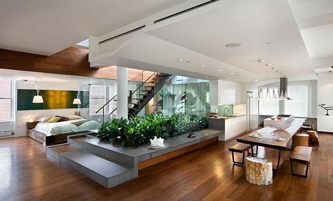 jardim vertical moderno: jardim em algum canto, e transformá-lo em um jardim vertical, como