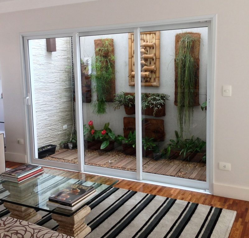 Jardim de inverno pequeno decora o onde montar plantas for Atrio dentro casa