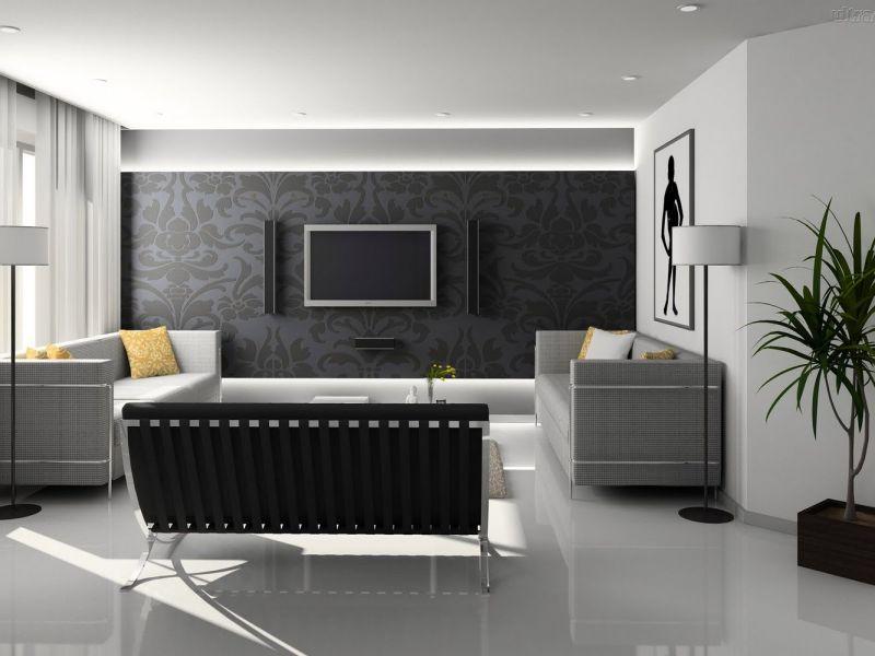 Diversos motivos arabescos em ambientes de casa.